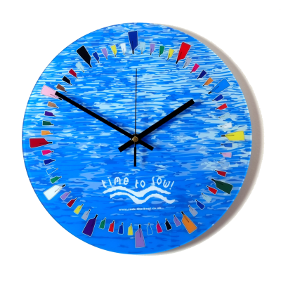Picture of CLOCK - WALL CLOCK- RECYCLED & RECYCLABLE 3MM ACRYLIC