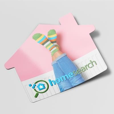 Picture of STANDARD SHAPE FRIDGE MAGNET - HOUSE