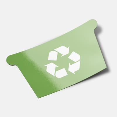 Picture of STANDARD SHAPE FRIDGE MAGNET - RECYCLING BOX