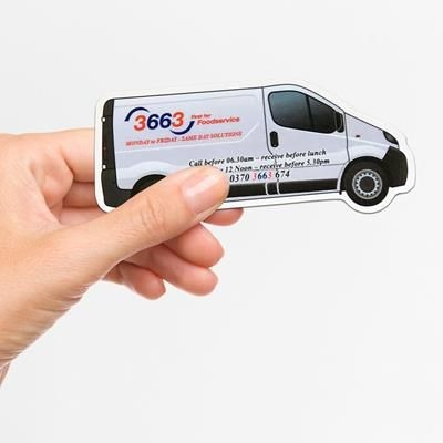 Picture of STANDARD SHAPE FRIDGE MAGNET - VAN