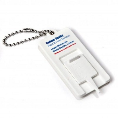 Picture of STANDARD TYRE TREAD GAUGE KEYRING