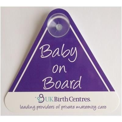 Picture of BABY ON BOARD SIGN