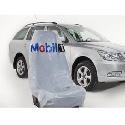 Picture of DISPOSABLE CAR SEAT COVER HEAVY DUTY in White - Plain Stock
