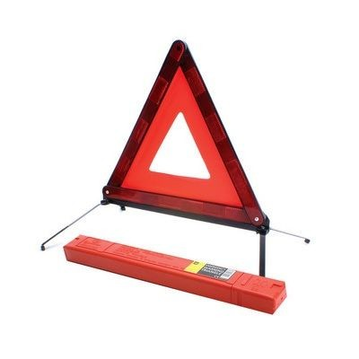 Picture of EMERGENCY TRIANGULAR in Red