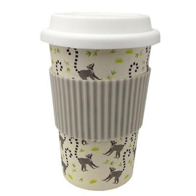 Picture of 500ML BAMBOO FIBER ECO SINGLE WALLED CUP