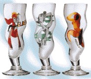Picture of WAVY BEER GLASS