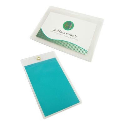 Picture of CLEAR PVC DOCUMENT WALLET