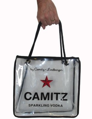Picture of CLEAR TRANSPARENT TOTE BAG