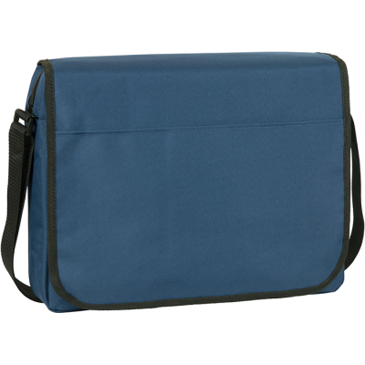 Picture of WHITFIELD RECYCLED RPET MESSENGER BUSINESS BAG