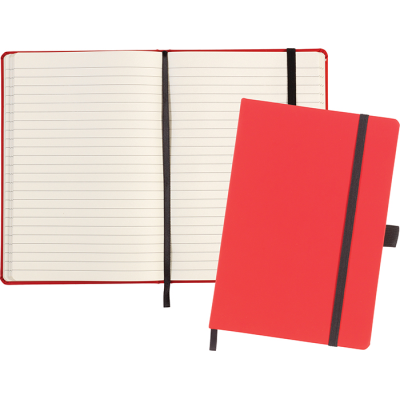 Picture of LARKFIELD A5 SOFT FEEL NOTE BOOK in Red