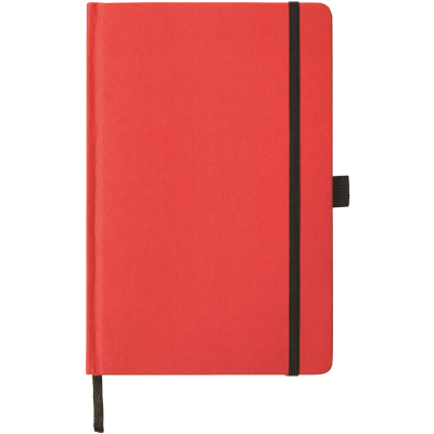 Picture of FOLKESTONE A5 KRAFT PAPER NOTE BOOK in Red