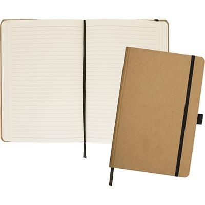Picture of FOLKESTONE A5 KRAFT PAPER NOTE BOOK in Natural
