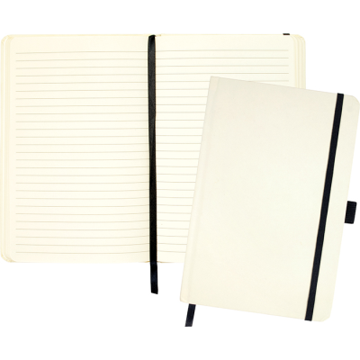 Picture of FOLKESTONE A5 KRAFT PAPER NOTE BOOK in Off White