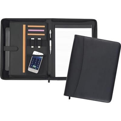 Picture of PEMBURY A4 CONFERENCE FOLDER in Black