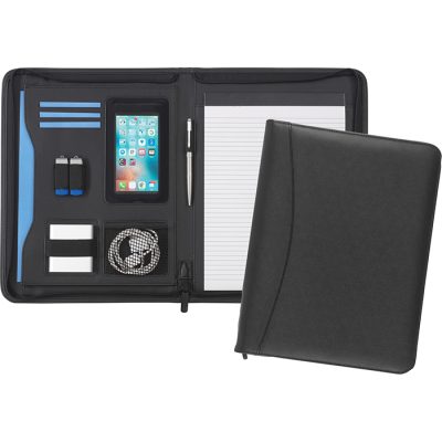 Picture of PEMBURY A4 ZIPFOLIO in Black