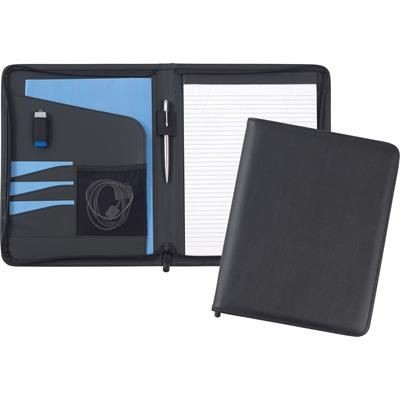 Picture of ROMNEY A4 ZIPFOLIO in Black