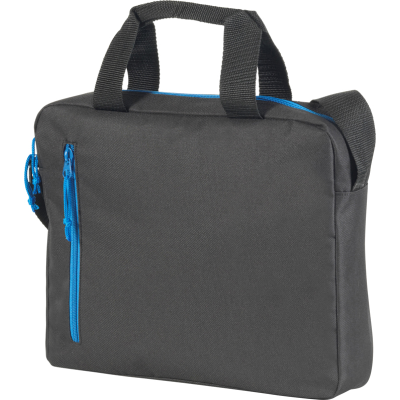 Picture of WESTCLIFFE BUSINESS BAG in Black & Royal Blue