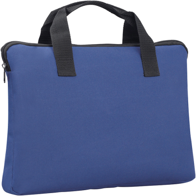Picture of SANDWICH DOCUMENT BAG in Blue Navy