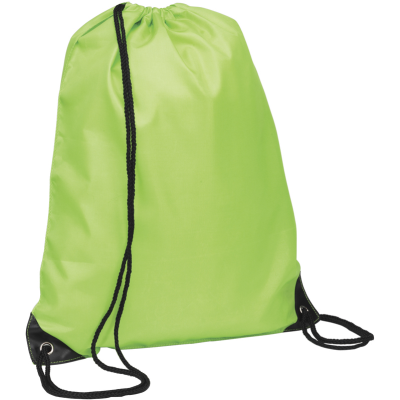Picture of EYNSFORD DRAWSTRING BACKPACK RUCKSACK in Apple Green