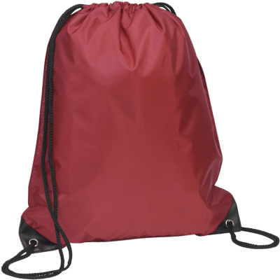 Picture of EYNSFORD DRAWSTRING BACKPACK RUCKSACK in Wine