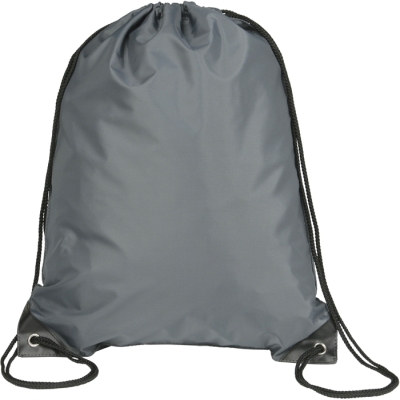 Picture of EYNSFORD DRAWSTRING BACKPACK RUCKSACK in Graphite Grey