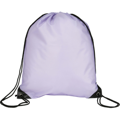 Picture of EYNSFORD DRAWSTRING BACKPACK RUCKSACK in Lilac