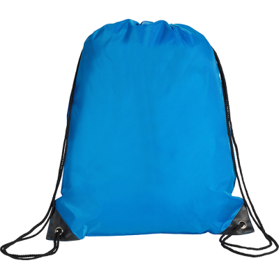 Picture of EYNSFORD DRAWSTRING BACKPACK RUCKSACK in Mid Blue