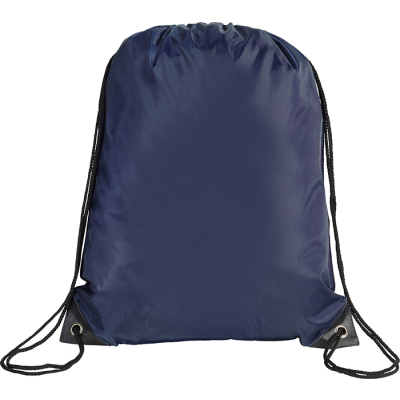 Picture of EYNSFORD DRAWSTRING BACKPACK RUCKSACK in New Navy Blue