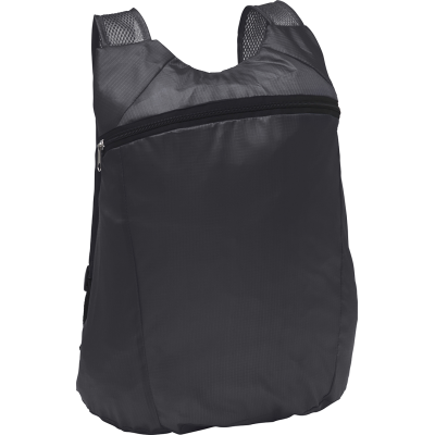 Picture of BOXLEY FOLDING BACKPACK RUCKSACK in Black
