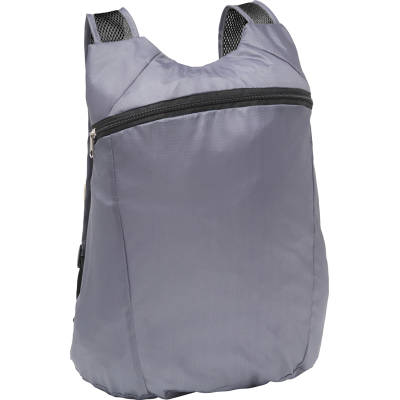 Picture of BOXLEY FOLDING BACKPACK RUCKSACK in Grey
