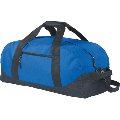 Picture of HEVER SPORTS BAG HOLDALL in Black & Royal Blue