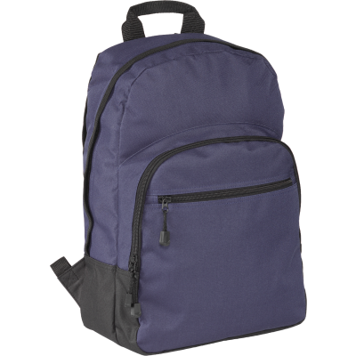 Picture of HALSTEAD BACKPACK RUCKSACK in Navy Blue