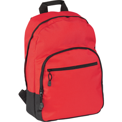 Picture of HALSTEAD BACKPACK RUCKSACK in Red
