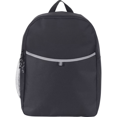 Picture of BROOKSEND PROMO BACKPACK RUCKSACK in Black
