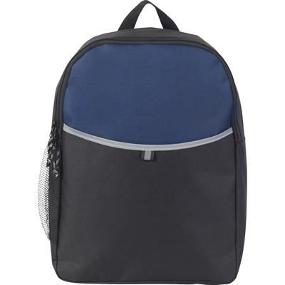 Picture of BROOKSEND PROMO BACKPACK RUCKSACK in Navy Blue & Black