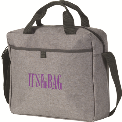 Picture of TUNSTALL LAPTOP BUSINESS BAG in Grey