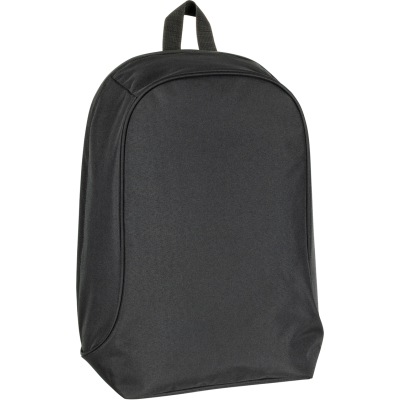 Picture of RECYCLED BETHERSDEN BUSINESS BACKPACK RUCKSACK in Black-black