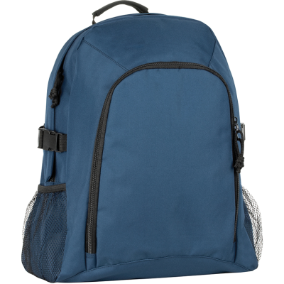 RECYCLED CHILLENDEN R-PET BUSINESS BACKPACK RUCKSACK in Navy