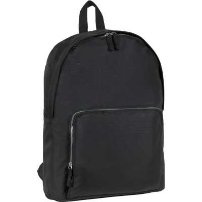 Picture of RECYCLED STAPLEHURST EXEC RPET BACKPACK RUCKSACK in Black
