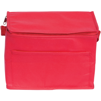Picture of RAINHAM 6 CAN COOL BAG in Red