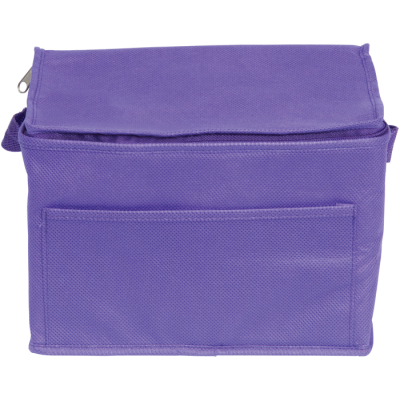 Picture of RAINHAM 6 CAN COOL BAG in Purple
