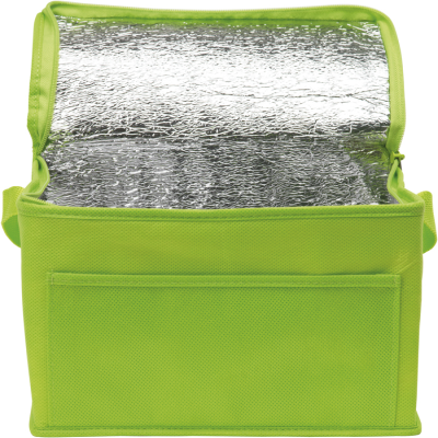 Picture of RAINHAM 6 CAN COOL BAG in Lime Green