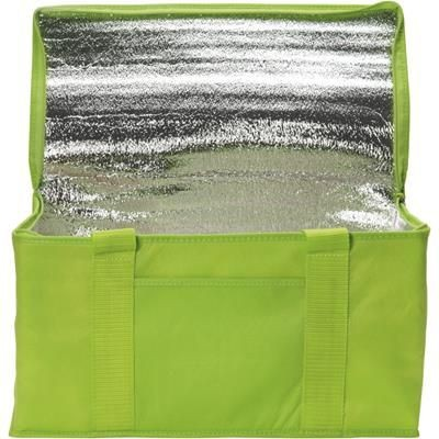 Picture of RAINHAM 12 CAN COOLER BAG in Lime Green