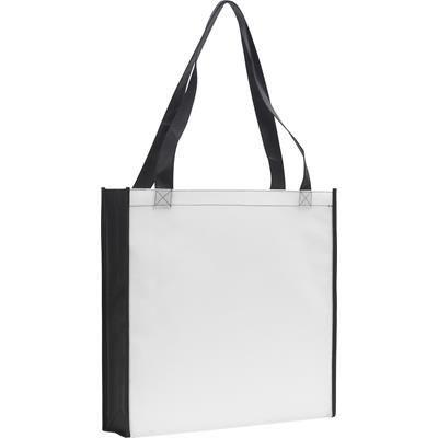 Picture of ROCHESTER TOTE BAG in White & Black