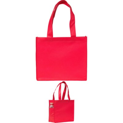 Picture of ELMSTED SHOPPER TOTE BAG in Red