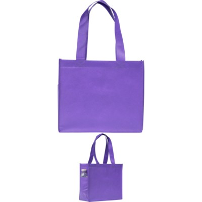 Picture of ELMSTED SHOPPER TOTE BAG in Purple