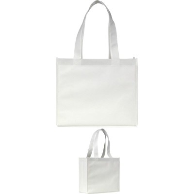 Picture of ELMSTED SHOPPER TOTE BAG in White