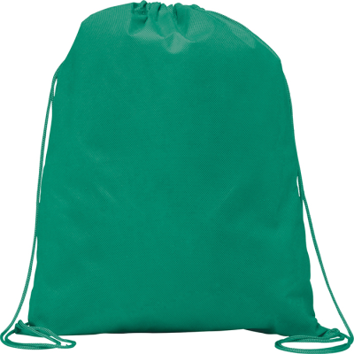Picture of RAINHAM DRAWSTRING BACKPACK RUCKSACK in Green