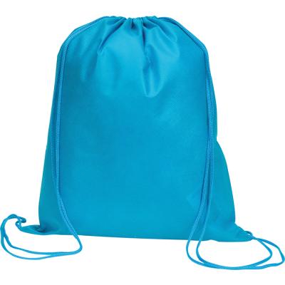Picture of RAINHAM DRAWSTRING BACKPACK RUCKSACK in Bright Blue