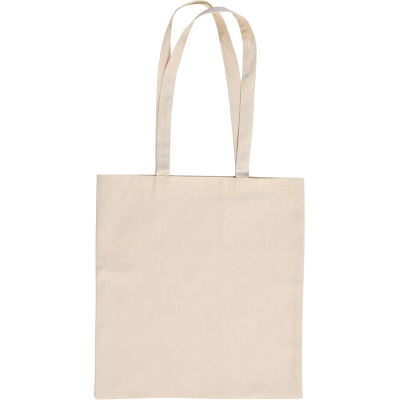 Picture of LEYBOURNE 5OZ COTTON SHOPPER TOTE BAG in Natural